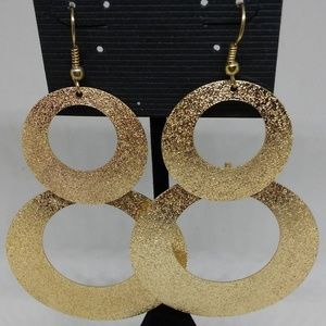 Earrings Textured Chandelier Drop/Dangle 1272